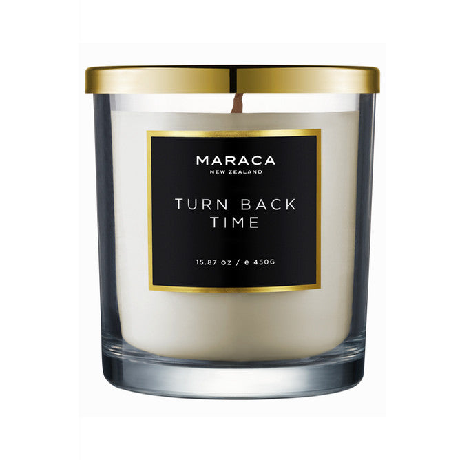 Maraca Luxury Candle - Turn Back Time