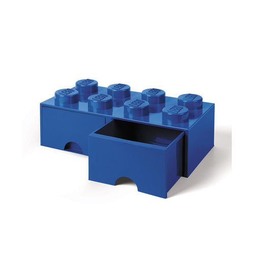 Lego Storage Brick with Drawers 8 Knobs