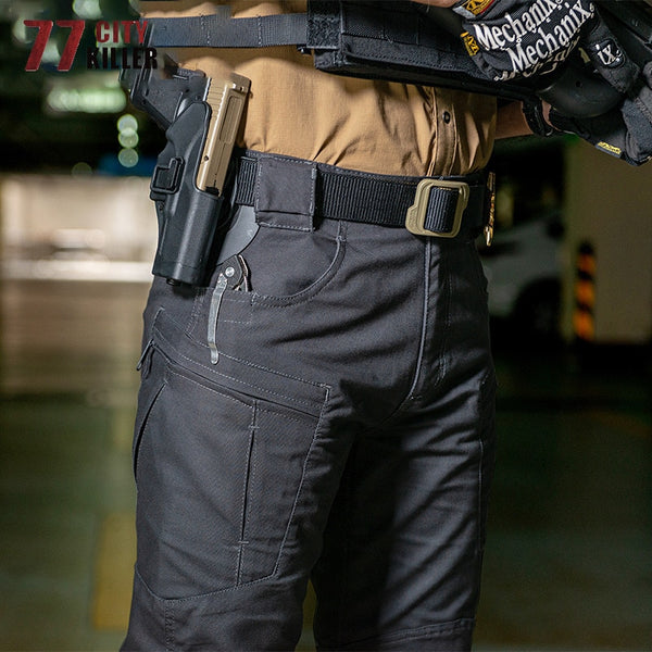 77City Killer SWAT IX8 Tactical Pants Men Military Waterproof Wear-resistant Joggers Cargo City Army Multi-pocket Mens Trousers