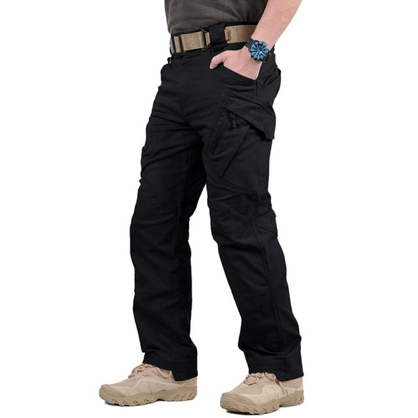 City Military Tactical Pants Men SWAT Combat Army Long Trousers Men Many Pockets Waterproof Wear Resistant Casual Cargo Pants