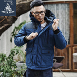 SauceZhan 90% Down Wind Proof Down Jacket Puffer Jacket Men Men Long Down Jacket  Winter Jacket Man Down Jacket for Men