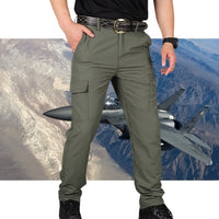 New Casual Cargo Pants Classic Outdoor Hiking Trousers Men Slim Waterproof Wear Resistant Air Force Military Army Tactical Pants