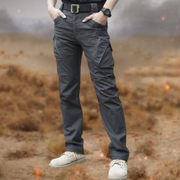 City Military Tactical Pants Men SWAT Combat Army Trousers Male Slim Many Pockets Waterproof Wear Resistant Casual Cargo Pants