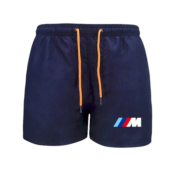 2021 New Men's Shorts BMW 5 Series Car Printing Waterproof  Quick-drying Beach Pants Jogging Vacation Leisure Sports Pants