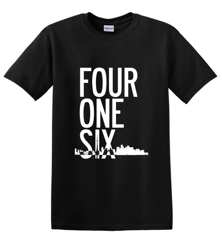 Toronto 416 'Four One Six' T-shirt - Improshare Custom Tees