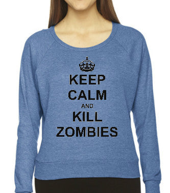 Keep Calm and Kill Zombies - Improshare Custom Tees