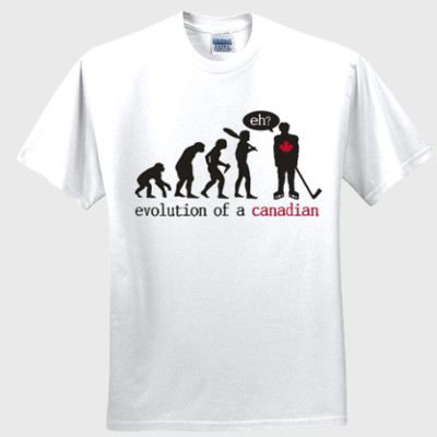 Canada Hockey Evolution T-shirt - Improshare Custom Tees