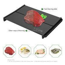 Frozen Food Defrost Kitchen Tool IP89 Rapid Defrosting Tray Thawing Plate
