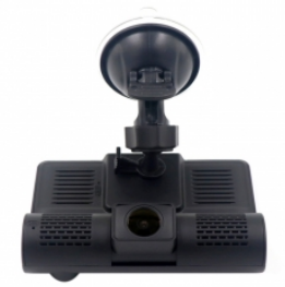 Exclusive 3 Channels Video Car DVR, Support Night Vision Fill Light