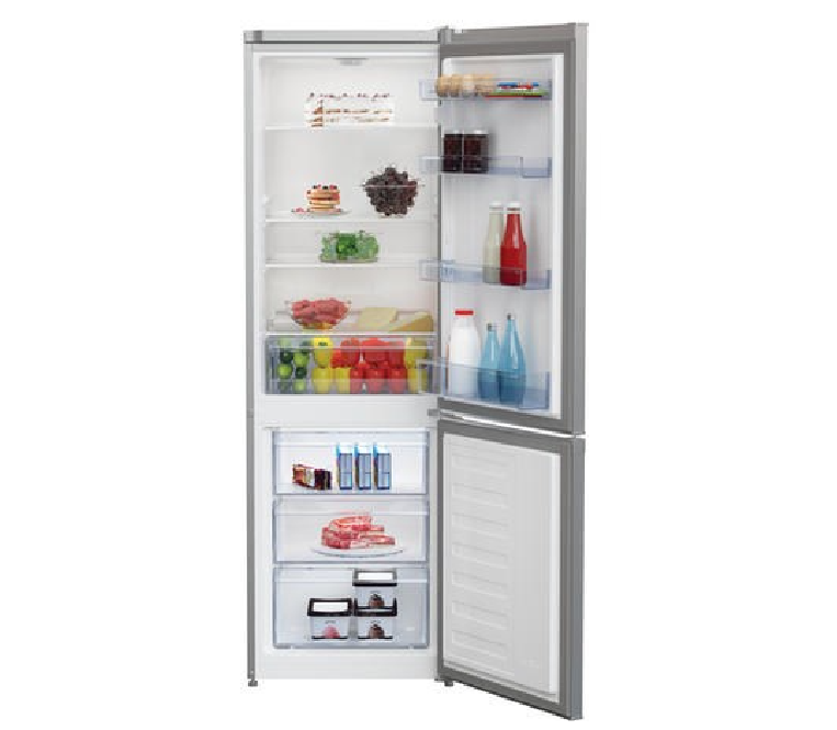 Beko CSG1571S 262Litre Freestanding Fridge Freezer 60/40 Split In Silver