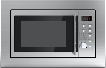 25L BUILT IN MICROWAVE STAINLESS STEEL DOMAPPMIC25GRSS