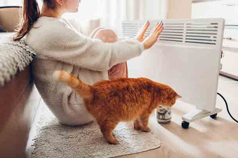 Keep heaters out of reach: