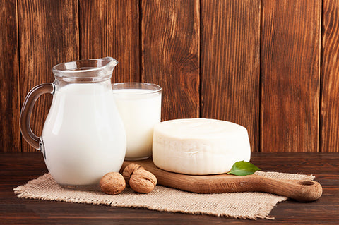 4). Milk and dairy products: