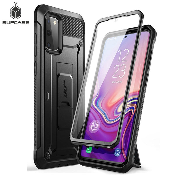 SUPCASE For Samsung Galaxy S20 FE Case (2020 Release) UB Pro Full-Body Holster Cover WITH Built-in Screen Protector & Kickstand