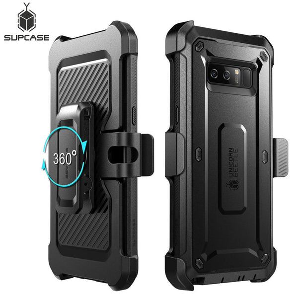 SUPCASE For Samsung Galaxy Note 8 Case UB Pro Full-Body Rugged Holster Protective Cover WITH Built-in Screen Protector