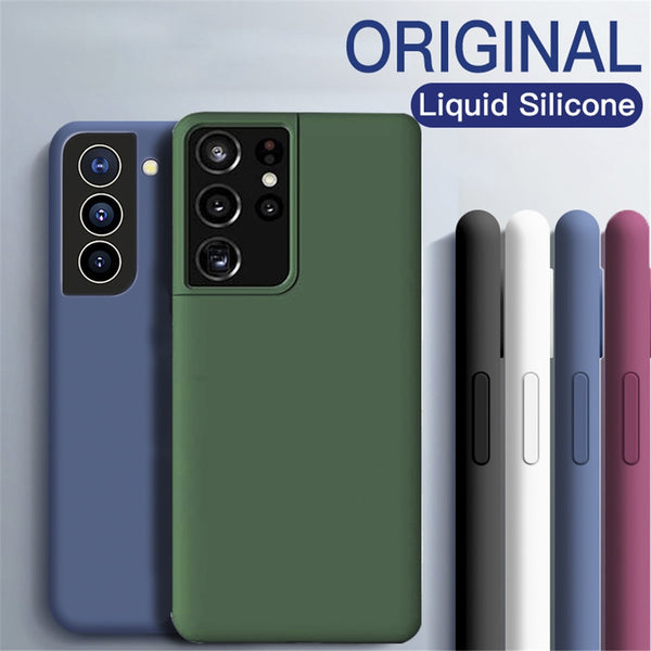 S21 Ultra Plus S 21 Ultra Plus Case Liquid Silicone Soft TPU Ultra thin Cover For Samsung Galaxy S21 Ultra Plus S 21 Ultra