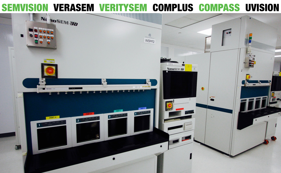 Applied Materials SEMVision, VeraSEM, VeritySEM, Complus, Compass, and UVision