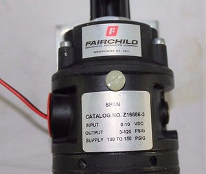 ASML, Fairchild Model T5700 Pressure Transducer Z16686-3, p/n 859-0571-002