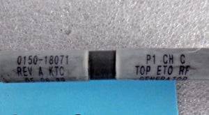 Applied Materials, ASSY, CABLE, AMAT, p/n 0150-18071