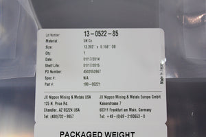 APPLIED MATERIALS (AMAT), TARGET - CO 5N 200MM ALPS, p/n FNQ-CB1-000175D, Pic 02