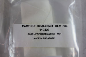 APPLIED MATERIALS (AMAT), BASE LIFT PIN RADIANCE CH, p/n 0020-05504, Pic 02