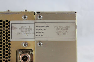 APPLIED MATERIALS (AMAT), IMR RF MATCH ETCH, p/n 0010-09416, Pic 06