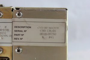 APPLIED MATERIALS (AMAT), IMR RF MATCH ETCH, p/n 0010-09416, Pic 07