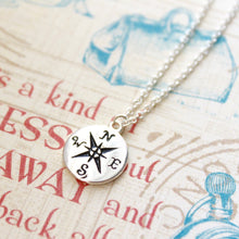 Load image into Gallery viewer, Show Me The Way Compass Necklace