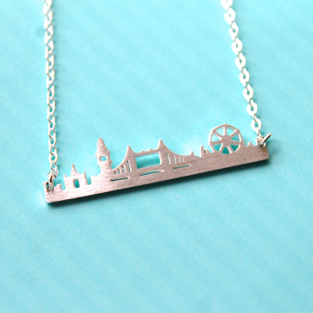 London Cityscape Necklace