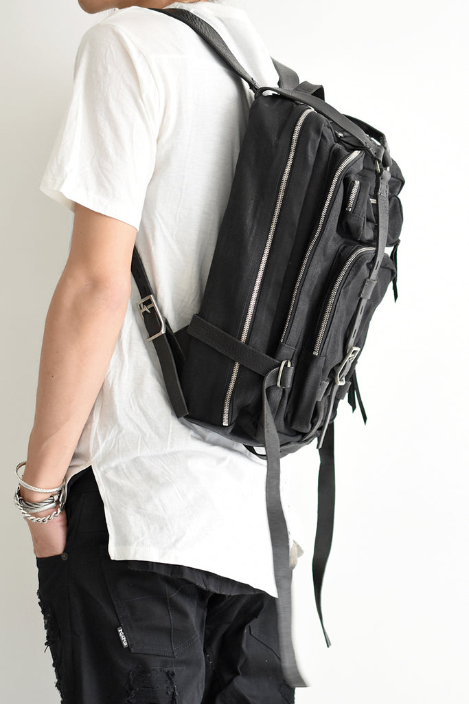 1901-BG12 Coating Twill Backpack 09