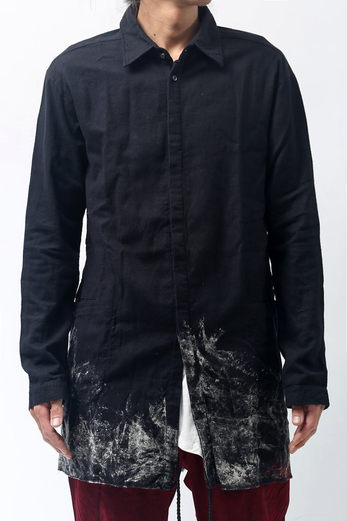 1902-SH05B Discharged Monolith Shirt