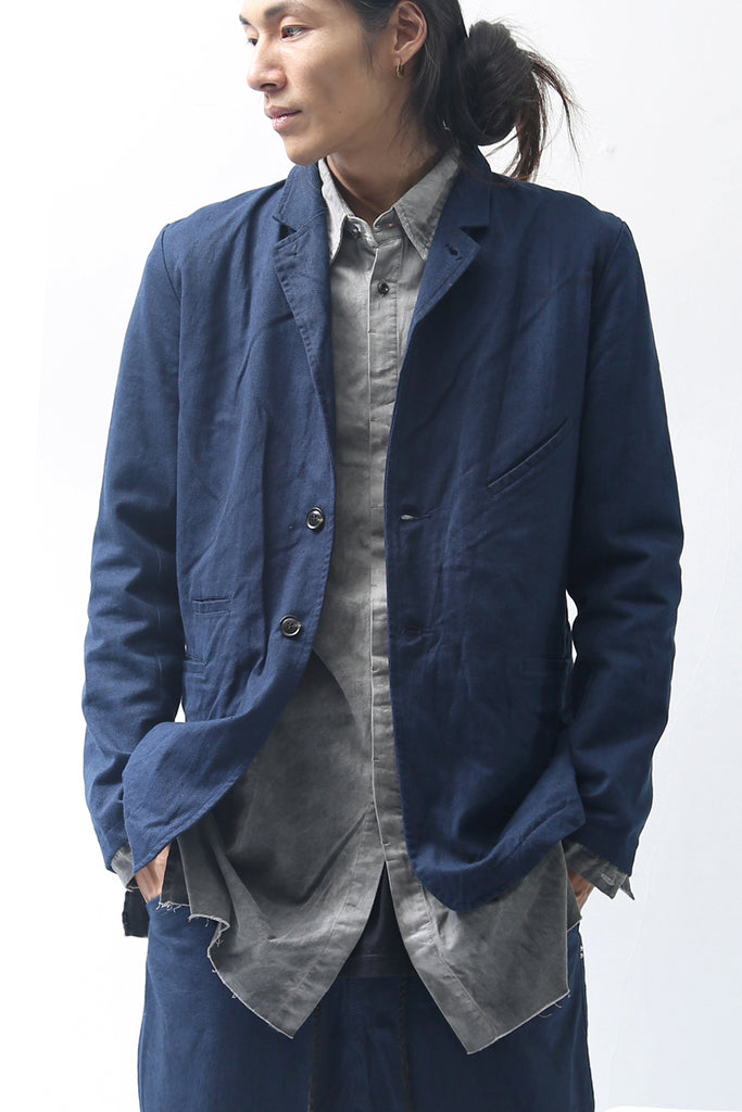 1902-JK09 Vintage Tailored JKT Navy