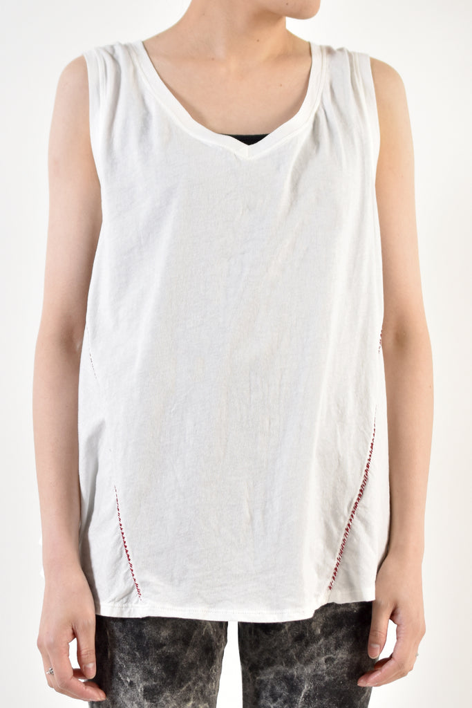 2001-CTL03A Flare Top 02 White