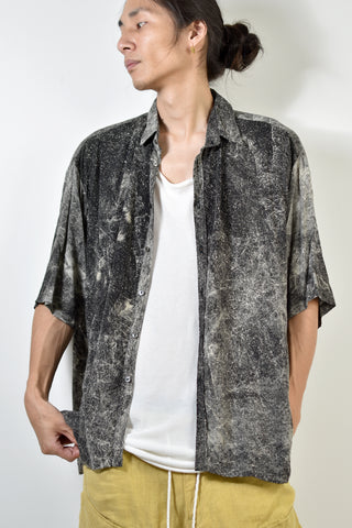 2001-SH02D Powder Storm Rayon Box Shirt