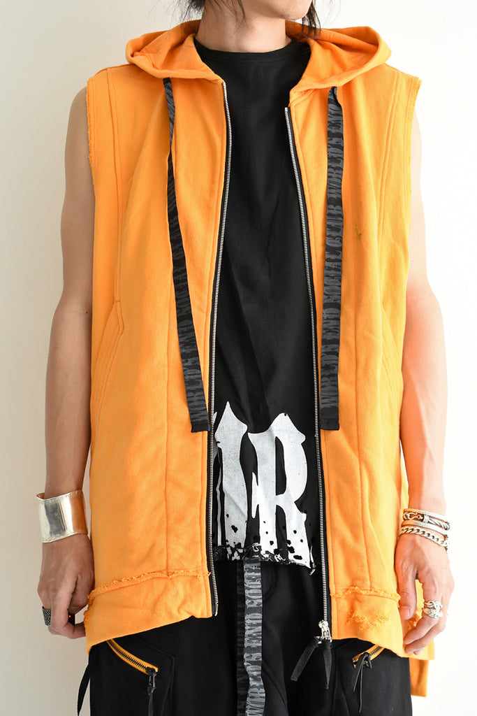1901-TP03B/NS World's End Crush Parka / NS Orange