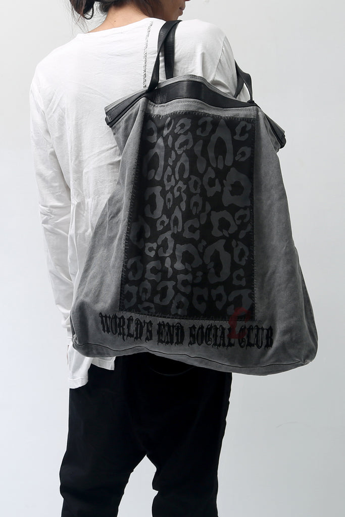 1902-BG09 World's End 2way Tote 02 / L