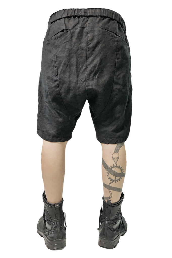 2101-PT06 Stealth Linen Shorts