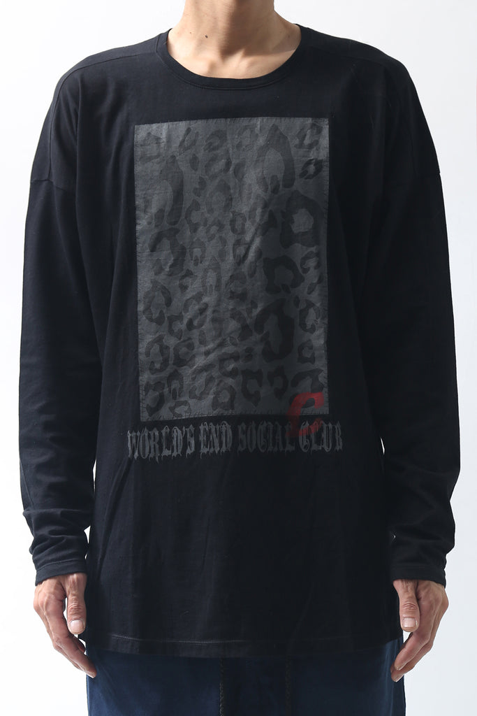 1902-CT04/LS World's End Cut 03 / LS Black