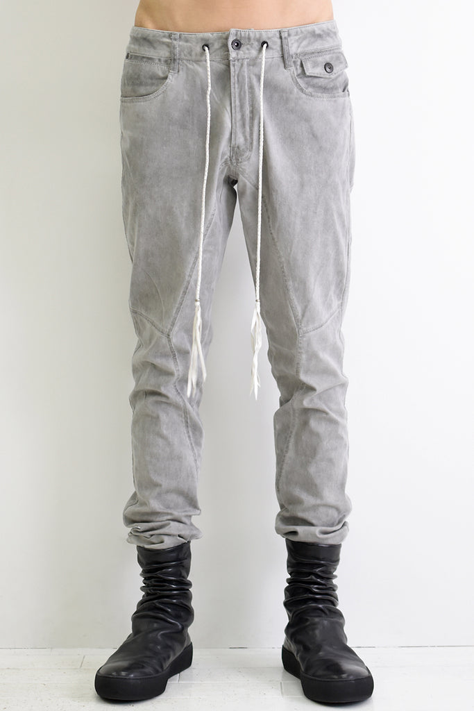 1901-PT07 Stretch Twill Pants P.Charcoal