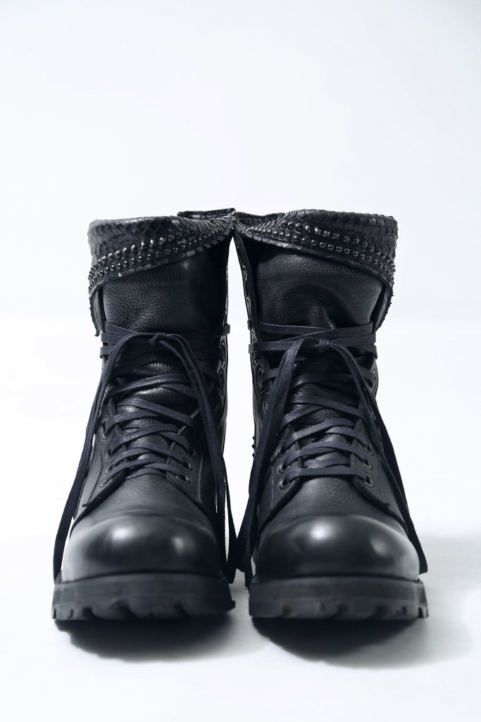 1702-BO03A Crush Chrome Boots 03