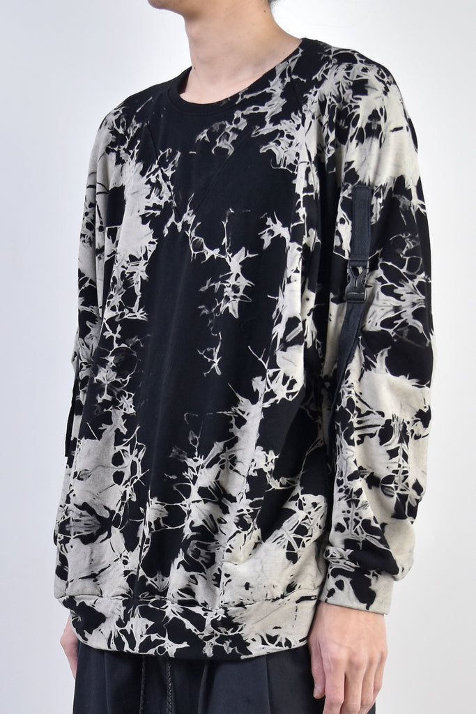 2002-TP03B Tie Dye Bamboo Pullover