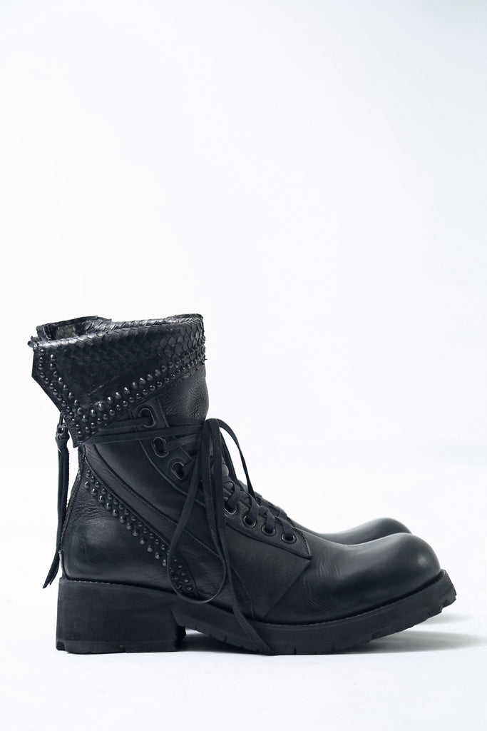 1701-BO03A Crush Chrome Boots 03