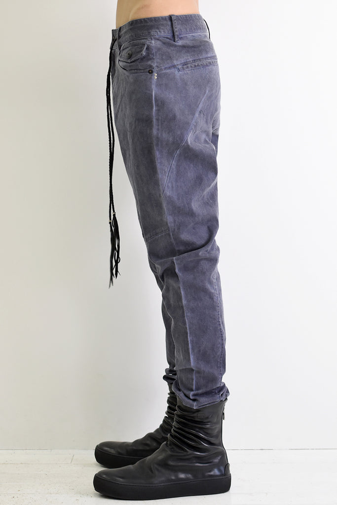1901-PT07 Stretch Twill Pants P.Navy