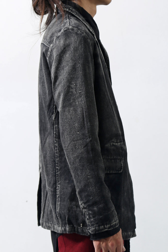 1902-JK09 Vintage Tailored JKT Black