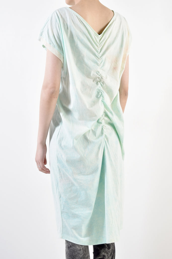 2001-CTL04B Daydream Back Shirring OP / PS Turquoise