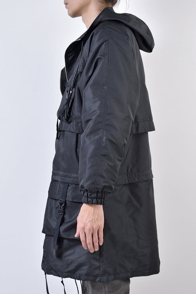 2002-JK02 2way Taslon Mods Coat