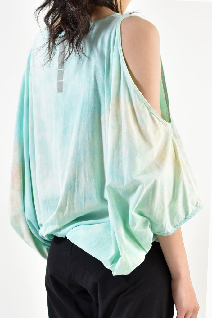 2001-CTL01B Open Shoulder Top / PS Turquoise