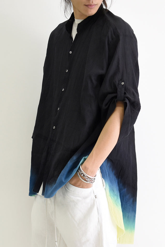 1901-SH01B Oversized Crepe Shirt GD