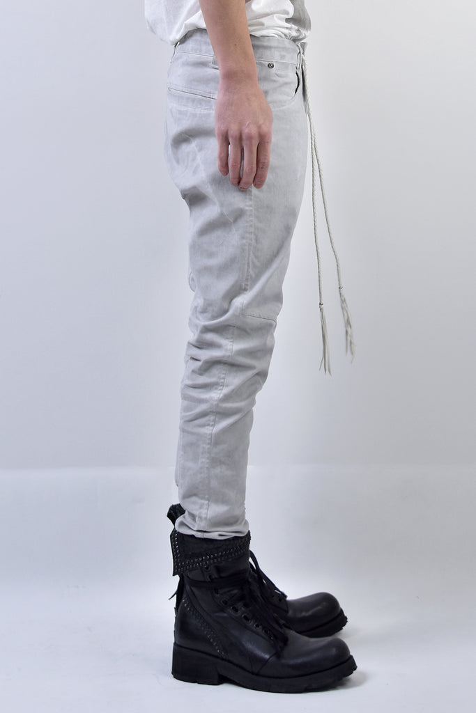 2101-PT01A Pigment Dye Stretch Twill Pants L.Charcoal