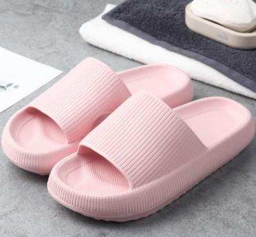Stepping on shit slippers female summer